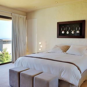 Master bedroom; OUDERKRAAL PLACE - Camps Bay