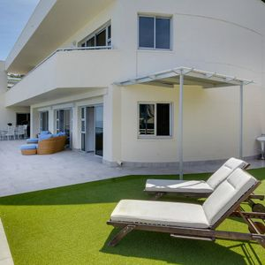 Exterior & sun loungers; CLIFTON PENTHOUSE - Clifton